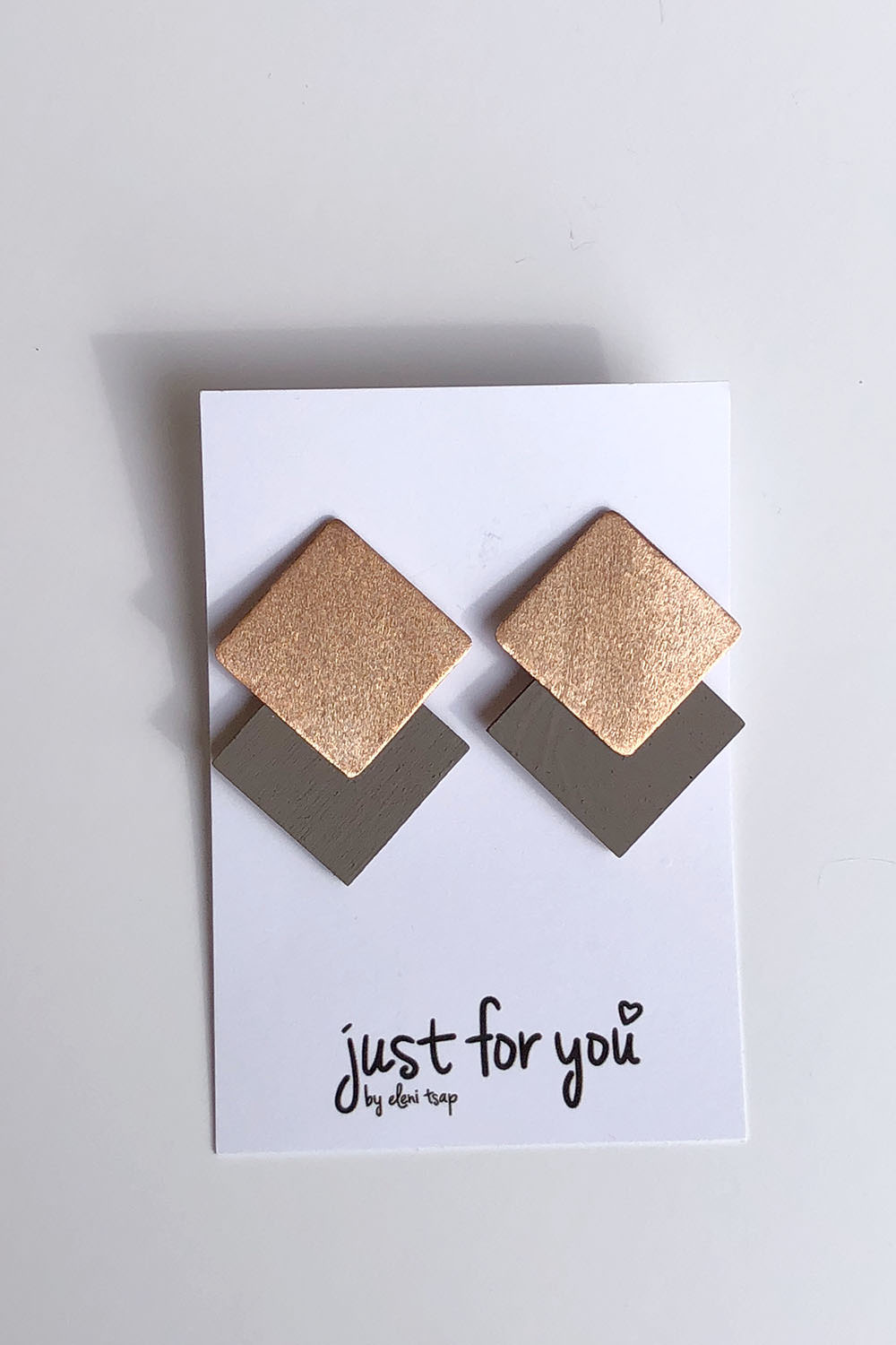 Bronze & Taupe Earrings