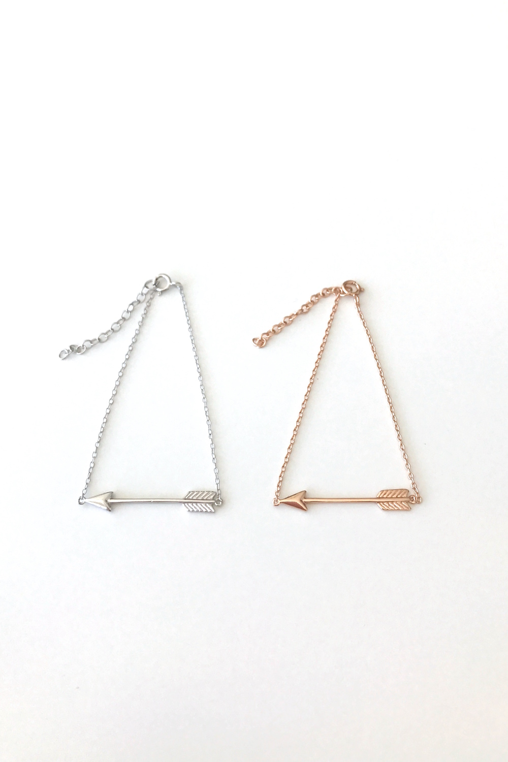 Arrow shaped bracelet