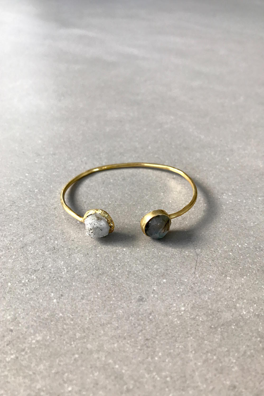 Bangle with stones